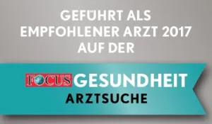 Focus Siegel der Praxis für Implantologie in Dortmund